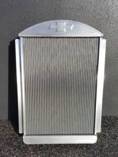 Aussie Desert Cooler Aluminium Radiator Chevy Hot Rod