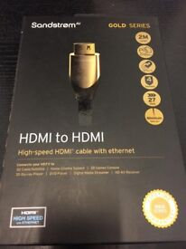 HDMI Gold Series Lead - BRAND NEW