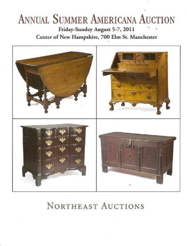 Northeast Bourgeault Americana Furniture Folk Art New Hampshire Catalog Aug 2011