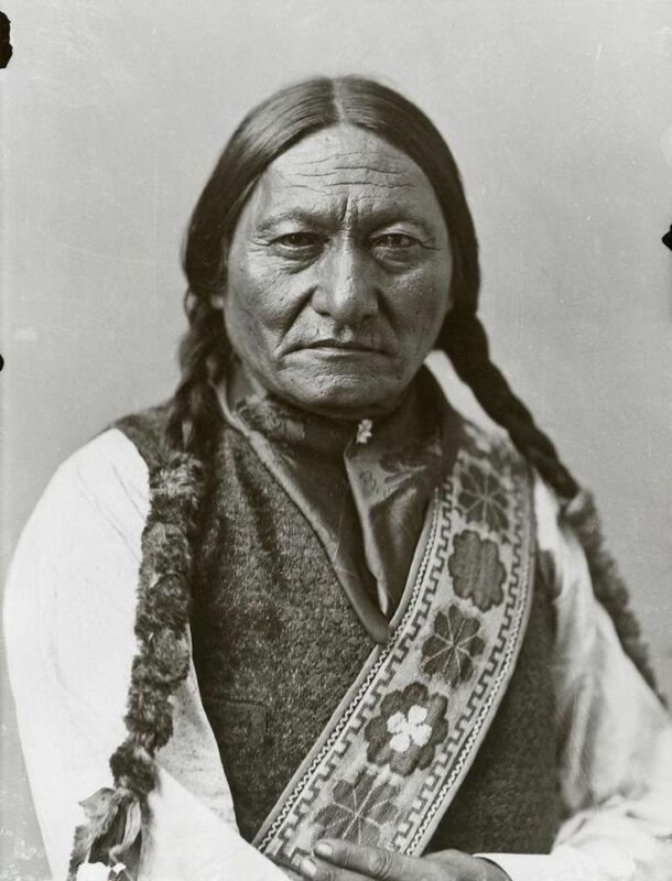 Sitting Bull By William Notman Vintage  8x10 Photo Print