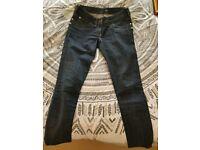 """River island jeans size 8 leg 28"""""""
