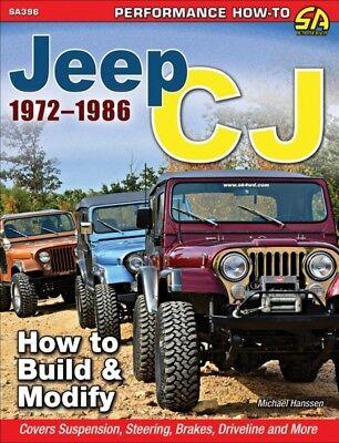 Jeep CJ 1972-1986 - How To Build & Modify - Book SA396