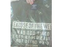 abercrombrie size xlarge t-shirt