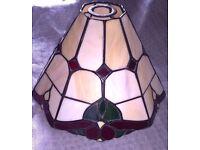 Tiffany style light shade