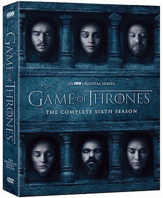 Game Of Thrones  The Complete Sixth Season 6  Dvd  2016  Brand New Free Shipping