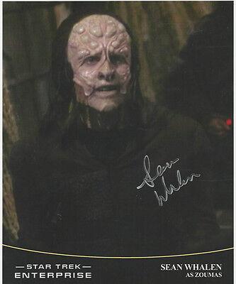 Sean Whalen   Star Trek Ent Signed Photo