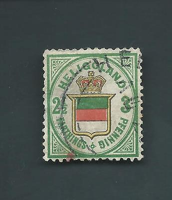 German States Heligoland Scott #20 USED Sound Stamp CV $1600 Cat