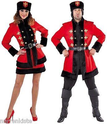 Kosak Kosake Kosaken Tracht Russen Russe Russin Kostüm Kleid Kosakin Mütze - Kosaken Hut Kostüm