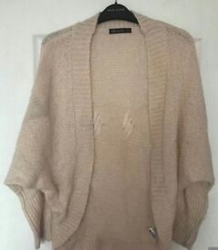 CREAM CARDIGAN, UK 12