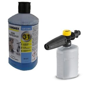 Karcher Ultra Foam Detergent Cleaner & Snow Foam Lance For Valeting 1 Litre Kit