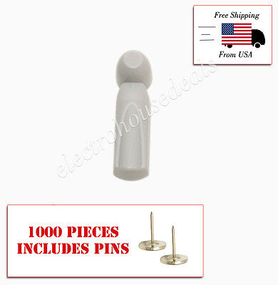 1000 Pcs Eas Anti Theft Rf Tags Security Tags Checkpoint Compatible With Pins