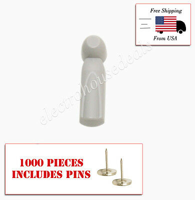 High Fashion 1000 Pcs Eas Rf 8.2 Mhz Checkpoint Compatible Pencil Tag Pin