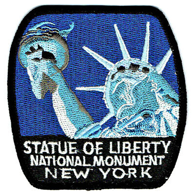Monument Statue Of Liberty (⫸ Statue of Liberty National Monument Embroidered Patch New York NY – New in)