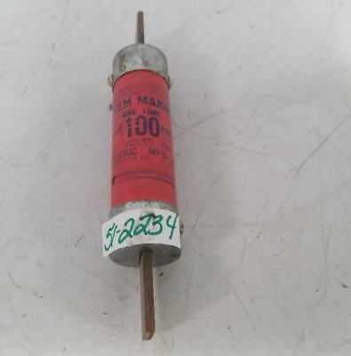 Gem Electric One Time 100amp Fuse
