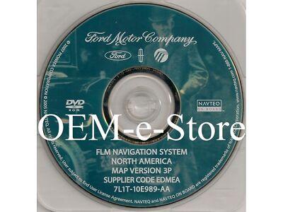 2007 Lincoln MKX / MKZ / Mark LT Pickup GPS Navigation OEM DVD Map 3P U.S Canada