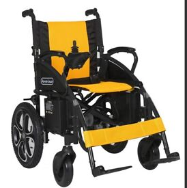 Easy foldable electric power chair power wheelchair with high quality