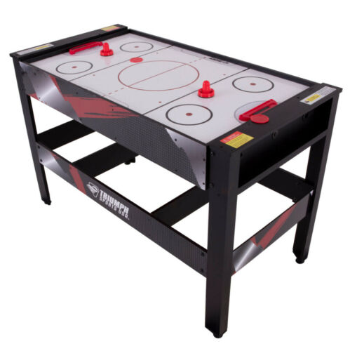 """AIR HOCKEY TABLE TENNIS BILLIARD GAME TABLE 48"""" 4-in-1 Accessories Included"""