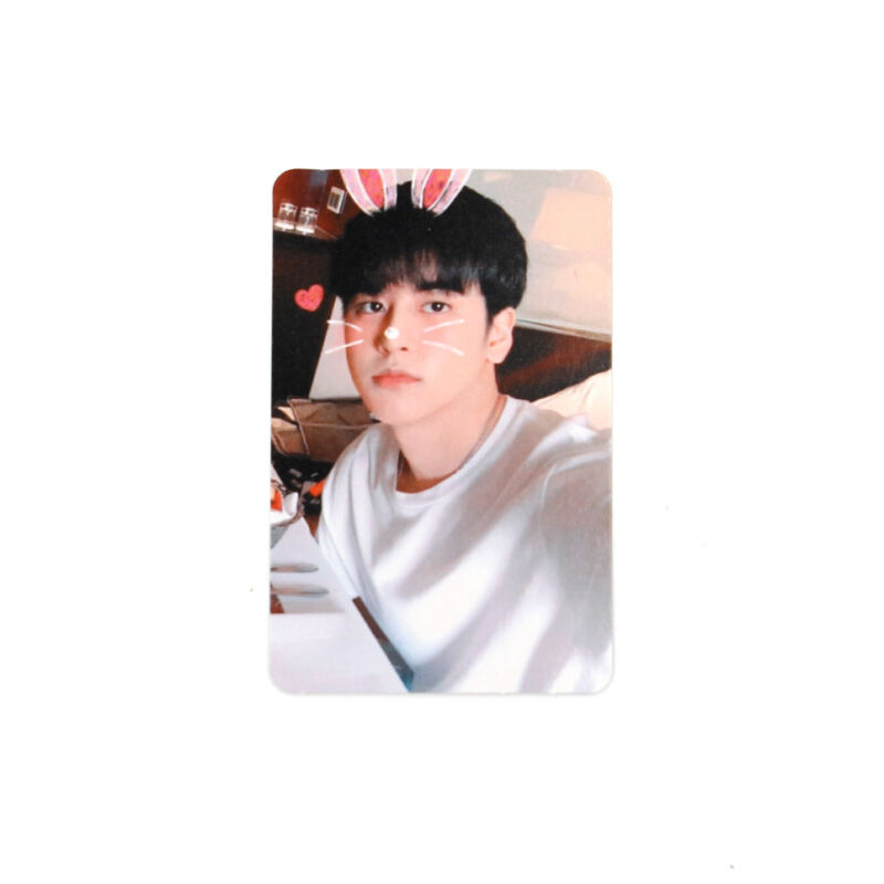 iKON]NEW KIDS REPACKAGE Album Official Photocard/RED