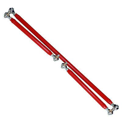 1982-2002 Camaro On Car Adjustable Lower Control Arms & Panhard Bar Kit - RED -