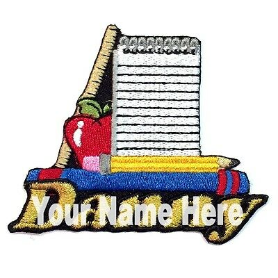 Custom School Supplies (School Supplies Custom Iron-on Patch)