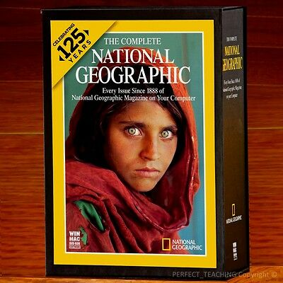 New  National Geographic 125 Years Complete Collection  1888   2012  Sealed Box