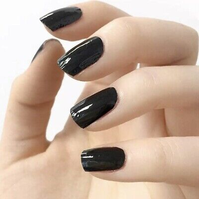 """INCOCO Nail Polish Black """"Blackjack"""" 16 Double-Ended Strips by It's a Nail"""