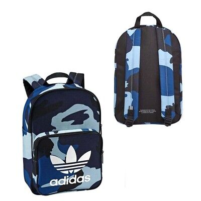 Adidas Originals Unisex Classic Camouflage Backpack Blue Navy DV2473