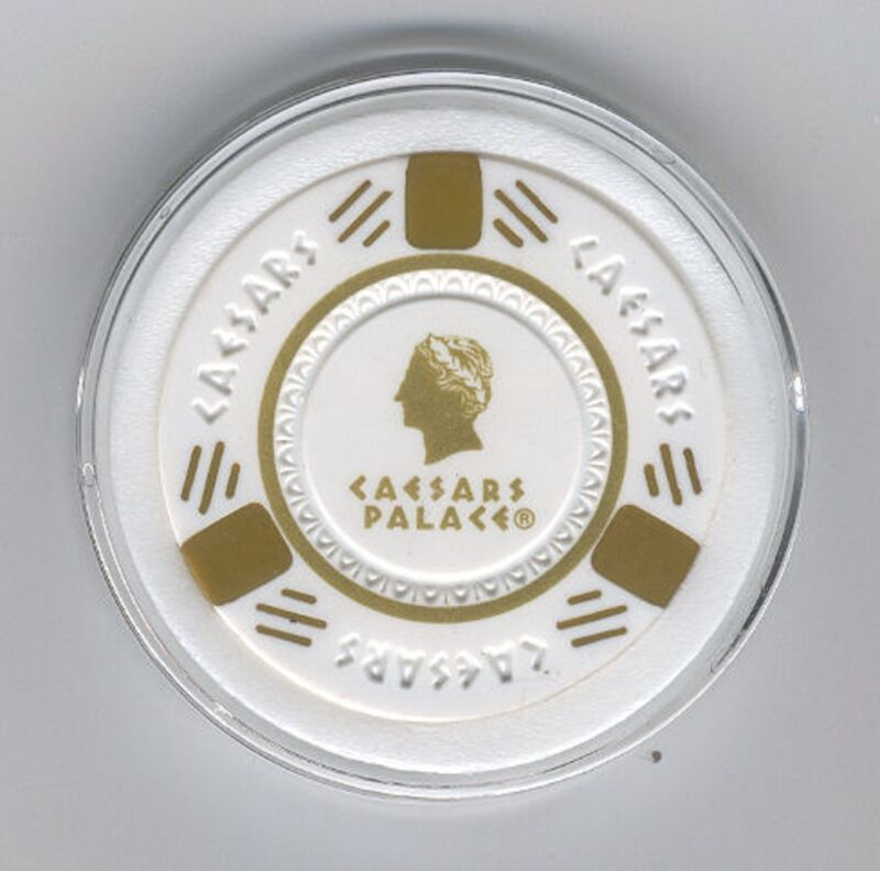 Caesars Palace Poker Chip Card Guard Casino Las Vegas