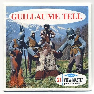 Guillaume Tell William Tell of Switzerland 1959 French ViewMaster Packet B-430