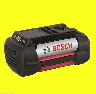 36 Ersatz (Bosch DIY Ersatz-Akku 36 Volt 4,0 Ah F016800346 Grün Garten Rotak 370 430 37 43)