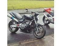2001 Honda Hornet. 19k miles. Lots of extras