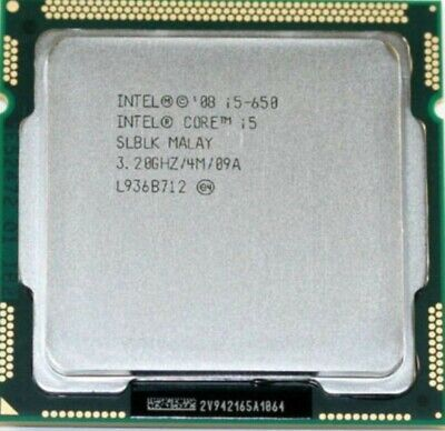 Lot (20 units) of Intel CPU Core i5-650 3.2GHz/4MB LGA1156