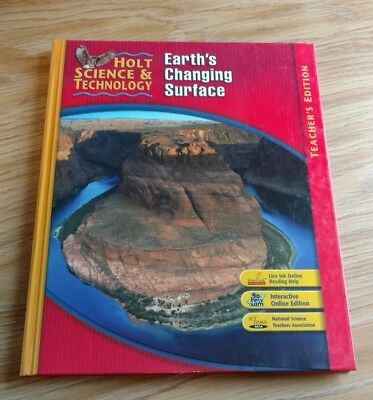 Holt Science   Technology  Earths Changing Surface Short Course G Teachers Edi