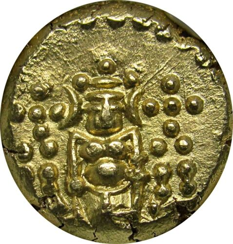 Dutch India, Negapatnam / Nagapattinam Mint, Gold Pagoda, NGC MS67, Stunning!