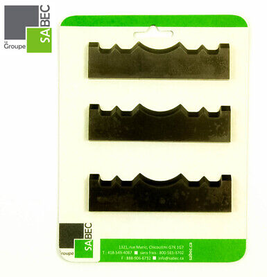 New Moulding Knives Kit Of 3 Casing 3.5 Woodmaster Compatible 1027