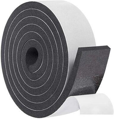 Adhesive Insulation Foam 2 Inch Wide X 38 Inch Thick X 6.5 Feet Long...