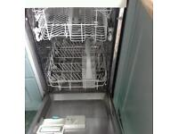 Dishwasher half size