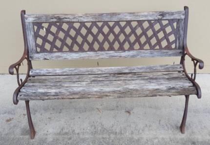 Antique Garden Seat