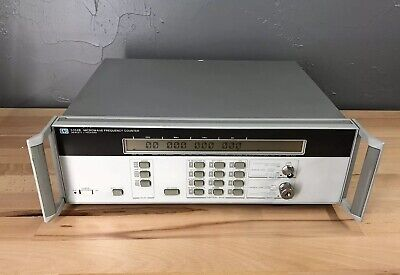 Hp 5352b 40 Ghz Microwave Frequency Counter Freshly Aligned Option 001 Ocxo