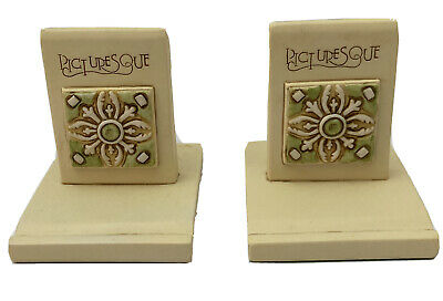 Tile Display Stands Set Of 2 Picturesque photo or business card holders