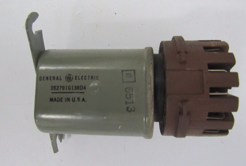 GENERAL ELECTRIC 3S2791G138D4 RELAY AND SOCKET
