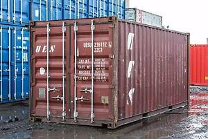 B GRADE SHIPPING CONTAINERS -DELIVERED FROM $1550+GST Newcastle Newcastle Area Preview