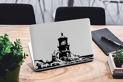 Lighthouse Decal for Macbook Pro Sticker Vinyl Laptop Mac Air Notebook Skin Fun