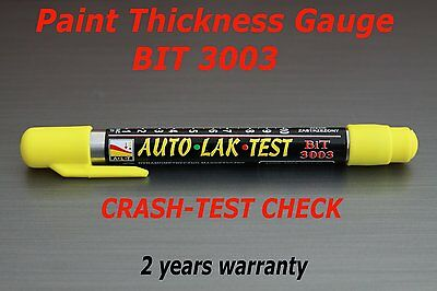 Paint Thickness Meter Gauge Bit 3003 Crash Check Test New