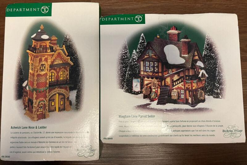 Department 56 - Original Snow Village - Lot Of 2 🔥 Complete.