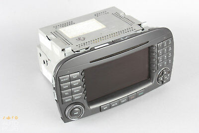 Mercedes benz vehicle electronics gps 05 08 mercedes r230 sl500 sl600 command comand head unit radio cd navigation oem fandeluxe Images