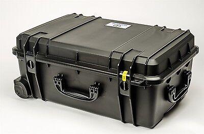 Black Seahorse SE920 Case. No Foam. Comes with a Pelican TSA Lock.