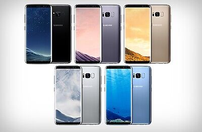 Samsung Galaxy S8 Unlocked 64GB G950U Android GSM 4G LTE AT&T T-MOBILE VERIZON