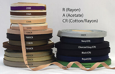 - Vintage 3/8 (10mm) Assorted Finished or Woven Edge Grosgrain Ribbon (3 yards)