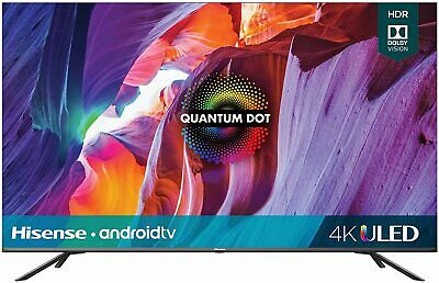 Hisense Quantum 55-Inch Android 4K UHD ULED Smart TV - 4 HDMI - 55H8G